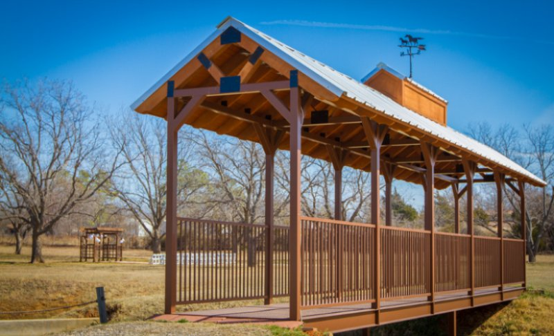 Covered Bridge To Pecan Orchard 3 of 18