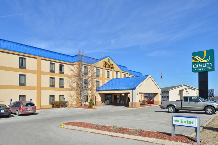 Map Landmarks Near Quality Inn Suites Jefferson City