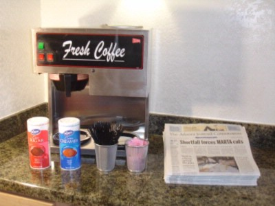 Complimentary Coffee - Newspaper 6 of 6