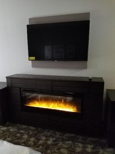 King Suite Fire Place 3 of 11