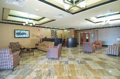 Lobby Holiday Inn Express Mccomb Ms 3 of 11