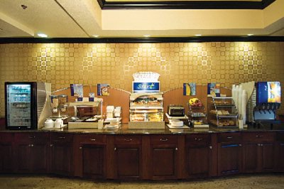 Breakfast Bar Holiday Inn Express Mccomb Ms 7 of 11
