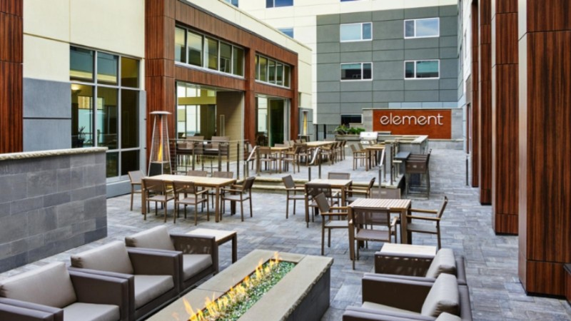 Element Fargo Courtyard 3 of 11