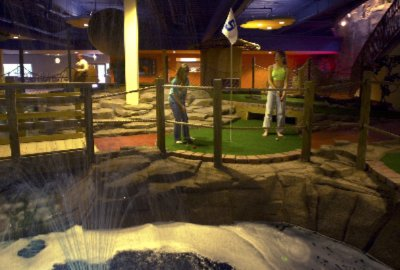 Mini Golf Artisans Big Game Arcade And Pottery Pizzaz For Extra Fun. 6 of 13