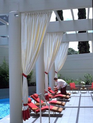 Let Us Serve You Poolside At Hotel Derek 14 of 22