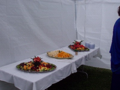 Appetizer Service In Private Gardens 10 of 11