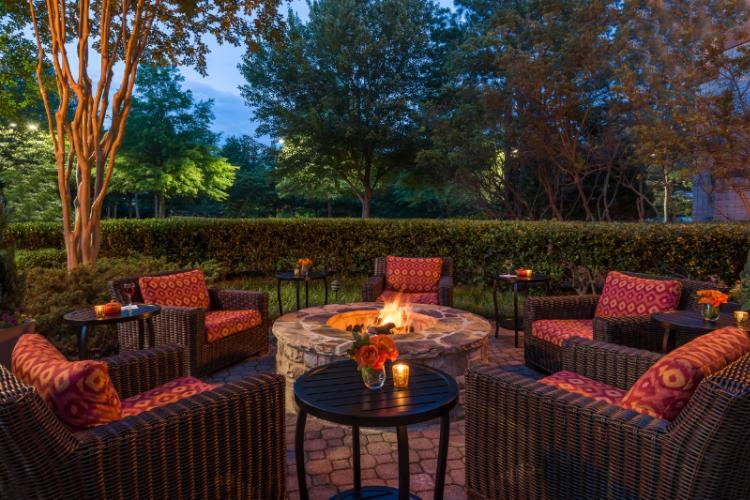 Mix And Mingle By Our Courtyard Fire Place 9 of 16