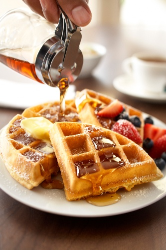 Our Be Our Guest Breakfast Features Freshly Made Waffles And Much Much More! 4 of 8