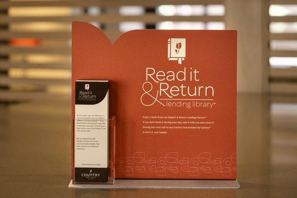Grab A Great Book From Our Read It And Return It Library 5 of 8