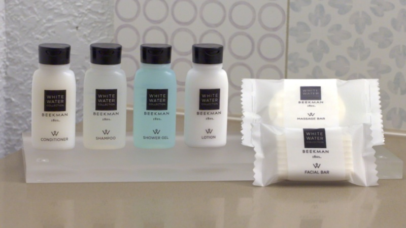 All Of Our Bathrooms Are Stocked With High Quality Beekman1802 White Water Collection Amenity Line! 6 of 8
