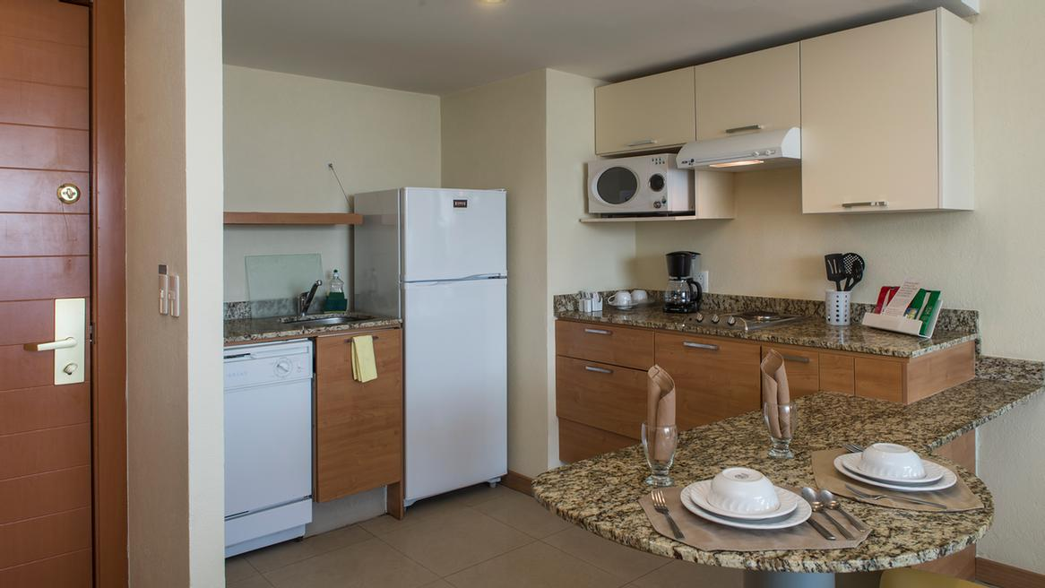 Kitchen In All Suites 4 of 14