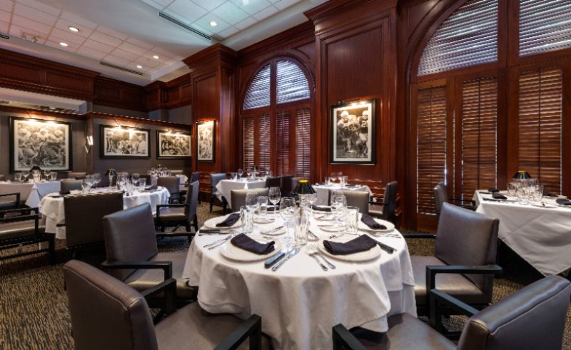 Shula\'s Steak House Located Off Hilton Naples Lobby 13 of 13