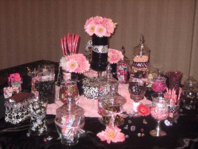 Wedding Reception -Candy Table 10 of 15