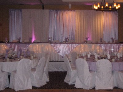 Wedding Reception -Head Table 12 of 15