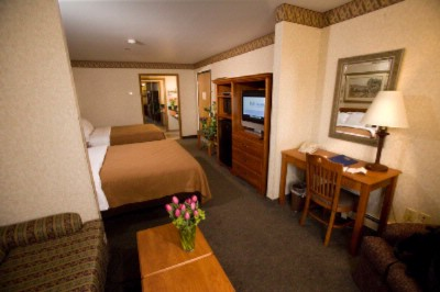 Mini-Suite In Our Garden Level Features 2 Queen Beds And A Sofa Sleeper. 10 of 10