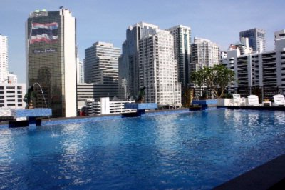 Rooftop Swimming Pool With City View 3 of 11