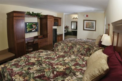 Newly Renovated (Deluxe) Guest Rooms -2 Queen Beds 9 of 10