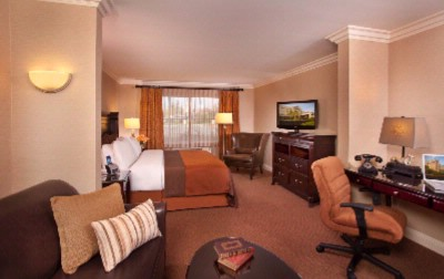 Executive King Pillowtop Suite At Ayres Inn & Suites Ontario Mills Mall 6 of 15