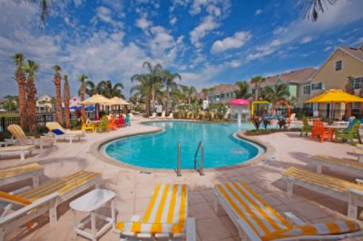 Runaway Beach Club Outdoor Pool Area With Water Features