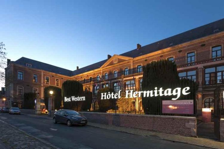Best Western Hotel Hermitage Place Gambetta Montreuil Sur Mer 62170