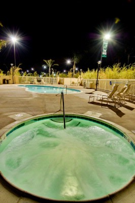 Evening Picture Of Our Pool Area. 9 of 25