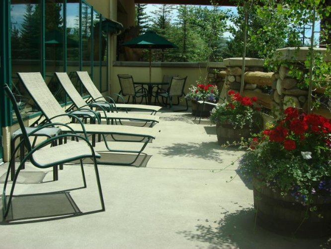 Small Deck Off Poolside 15 of 16