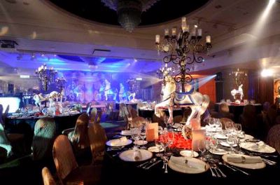 Ballroom With Circus Theme 12 of 31