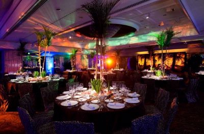 Ballroom With Jungle Theme 13 of 31