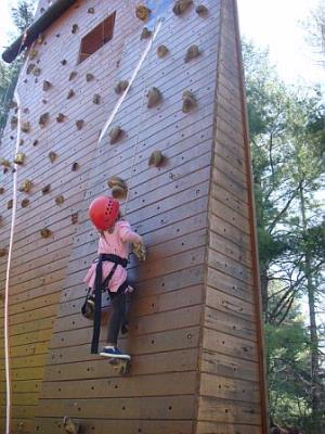 50-Foot Climbing Wall 18 of 18