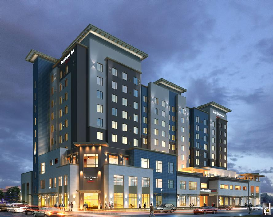Residence Inn By Marriott Boise Downtown City Center 400 South Capitol Blvd Id 83702
