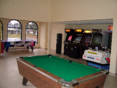 Game Room Including Pool Table And Air Hockey 10 of 19