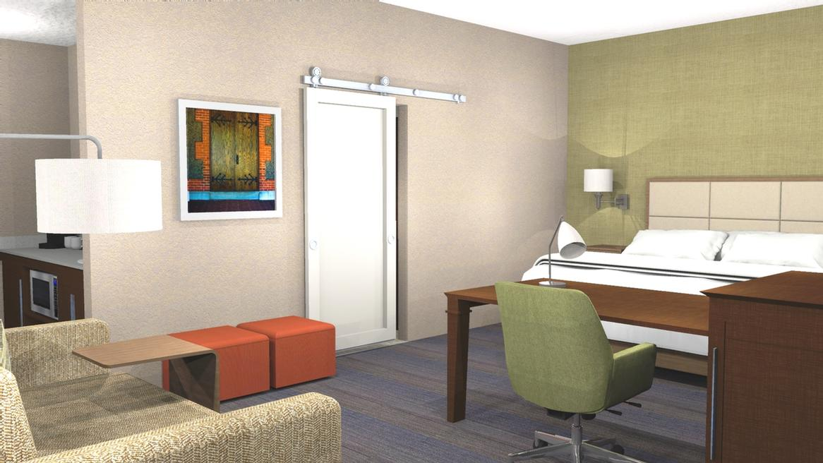 King Studio Suite Rendering 8 of 8