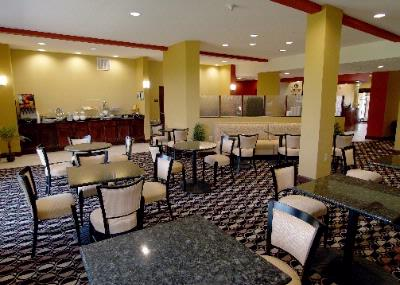 Comfort Suites-Breakfast Area 4 of 9