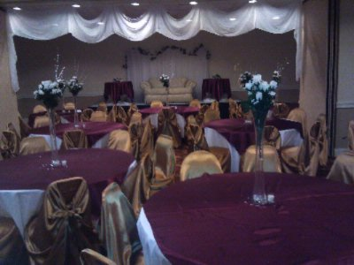 Stage Set By Our Event Planners 16 of 21