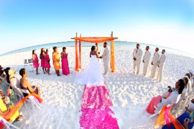 Tops\'l Beach Wedding 12 of 12