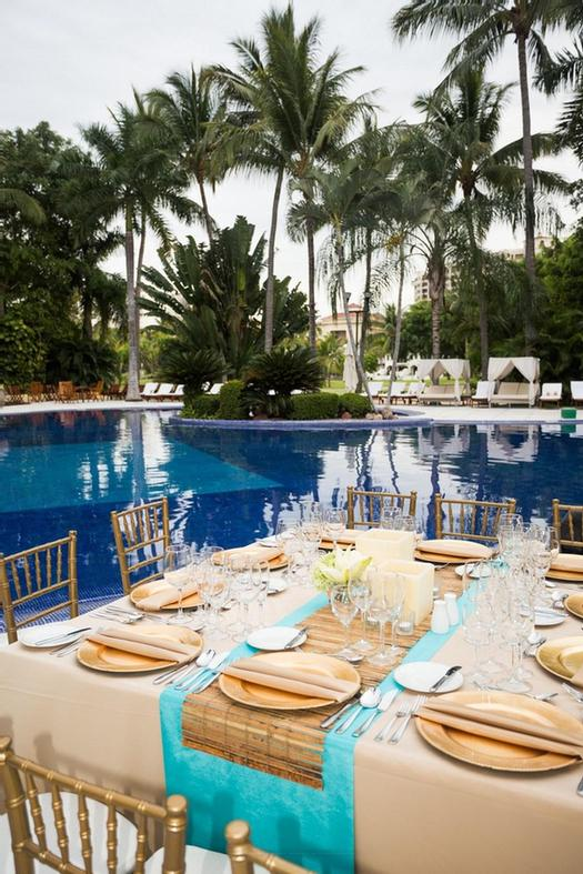 Pool Terrace -This Terrace Is Located Next To The Hotel\'s Pool Surrounded By Palm Trees And Lush Gardens. Its White Marble Granite Floor Stunning Pool Gardens And View To The Golf Course Create The Perfect Scenario For Your Event. 18 of 31