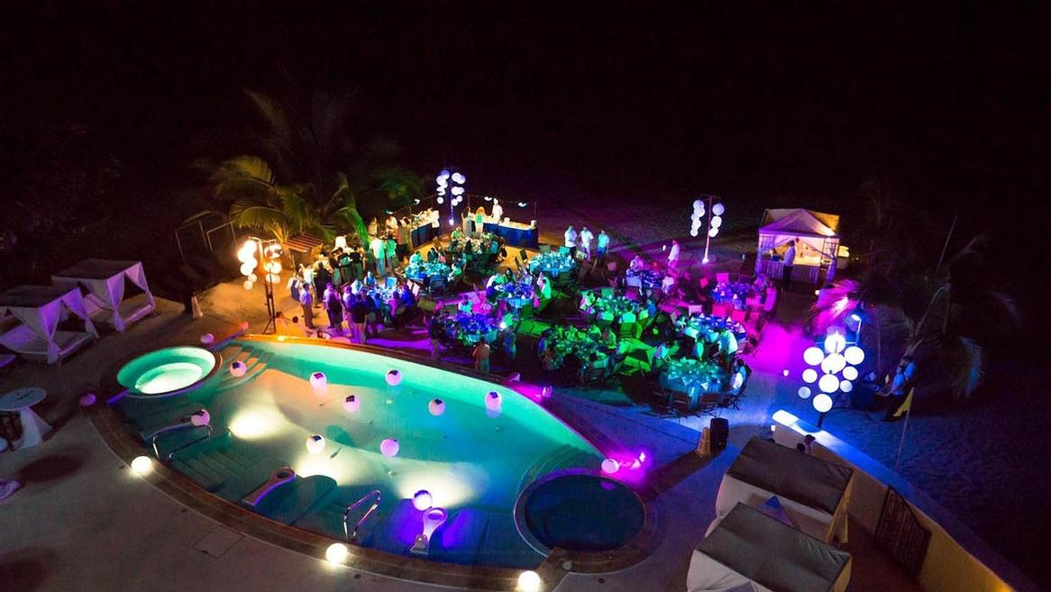 Ocean Club Terrace -Location: Terrace With Ocean And Infinity Pool View Characteristics: Tables Arranged On Lawn Suggested Time: 5:00 Pm To 11:00 Pm Event: Cocktail Reception And Dinner. Due To The Area Distribution. 22 of 31