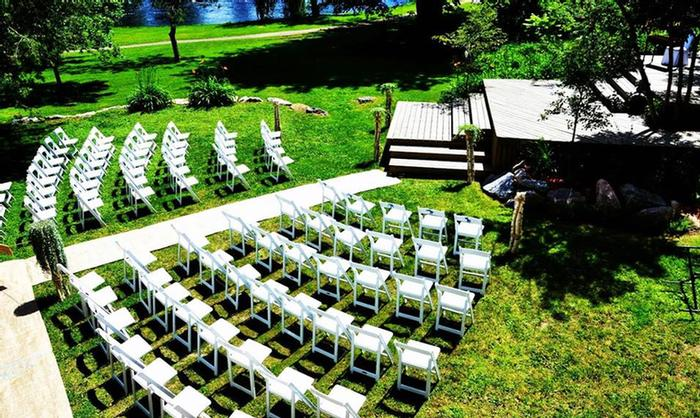 Have Your Wedding Ceremony On Our Parkside Deck. 11 of 11