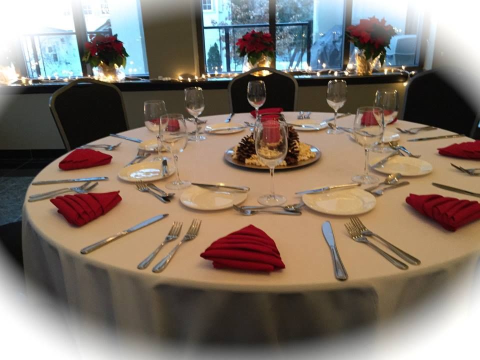 We Can Host Your Christmas Party. Matheson Hall Holds Up To 80 Persons Banquet Style 9 of 11