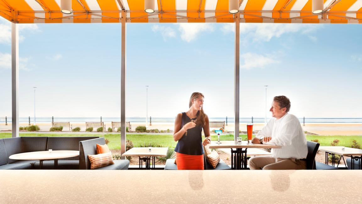 Oceanfront Dining Patio 10 of 14