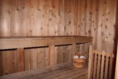 Cozy Sauna Inside Fitness Center 13 of 20