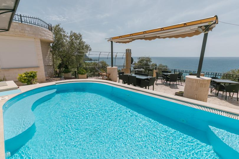 Balcony With The Pool And Sea View 4 of 21