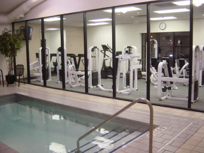 Fitness Room With Exercise Pool 4 of 13