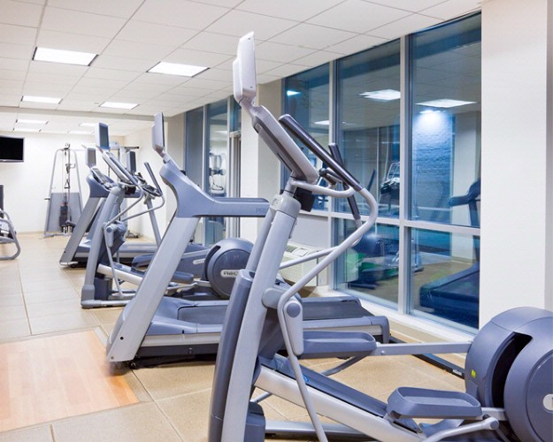 State Of The Art Fitness Center With Precore Equipment. 4 of 11