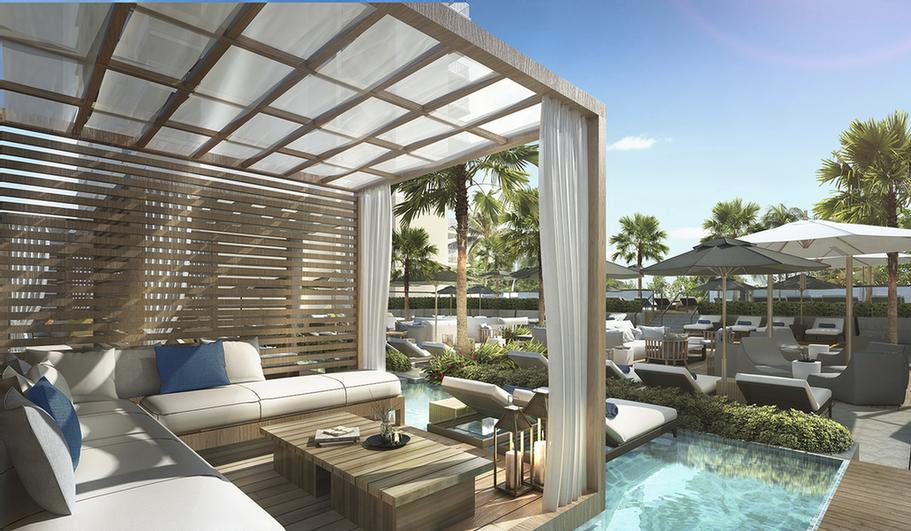 Private Cabanas Over Reflecting Pools 13 of 24