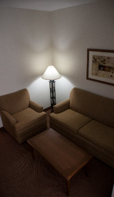 King Suite Sitting Area 10 of 18