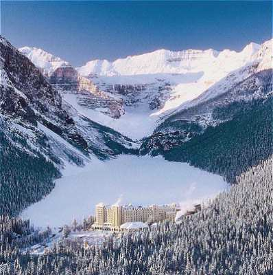 The Fairmont Chateau Lake Louise -Winter 7 of 12