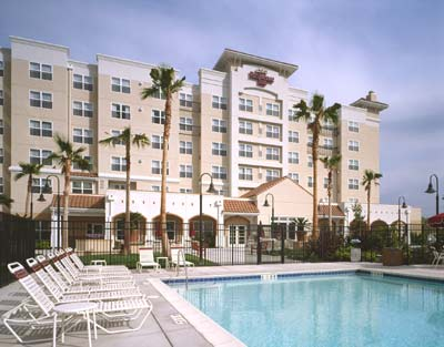 Landmarks And Location Of Courtyard By Marriott Newark Ca