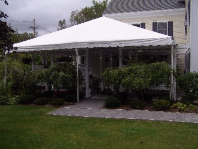 The Patio Tented For An Outdoor Event 13 of 16