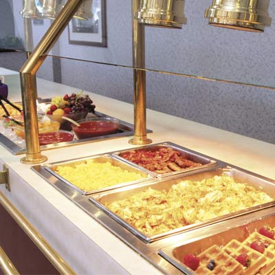 Delicious Free Hot Breakfast Buffet 2 of 7